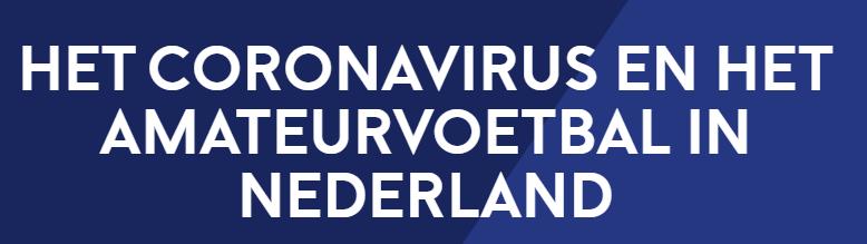 Geen wedstrijden/trainingen bij v.v. Diever-Wapse als gevolg van corana virus
